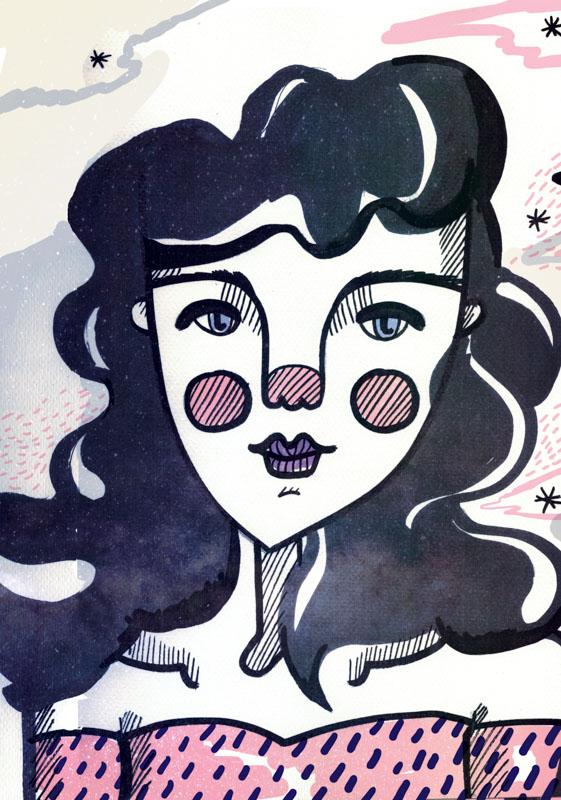 jesana motilva ilustracion y diseño grafico coleccion moonlight