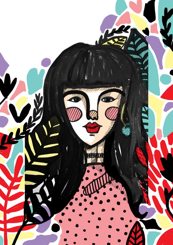ilustracion de moda ilustradoras españolas aragonesas